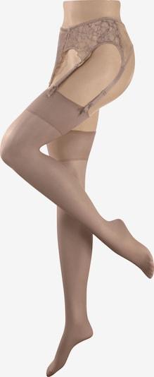 DIE STRUMPFMACHER Strapsstrümpfe 20 den/22 dtex in beige / nude, Produktansicht
