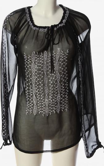 VIVIEN CARON Transparenz-Bluse in M in schwarz / weiß, Produktansicht