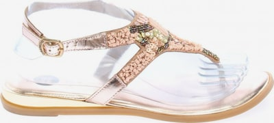 Gioseppo Zehentrenner-Sandalen in 38 in bronze, Produktansicht