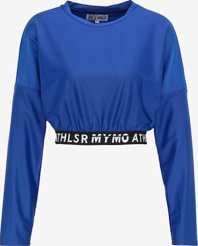 myMo ATHLSR Functioneel shirt in de kleur Blauw, Productweergave