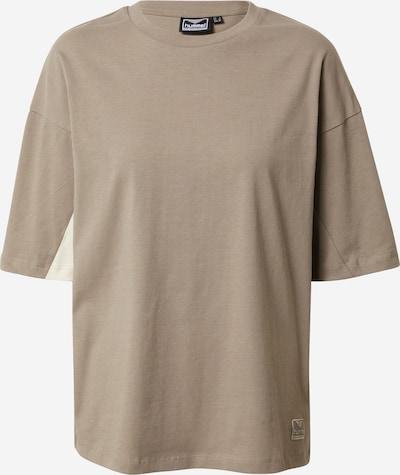 hummel hive Shirt 'Rooftop' in de kleur Greige, Productweergave