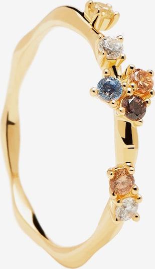 Inele 'Five' P D PAOLA pe auriu / mai multe culori, Vizualizare produs