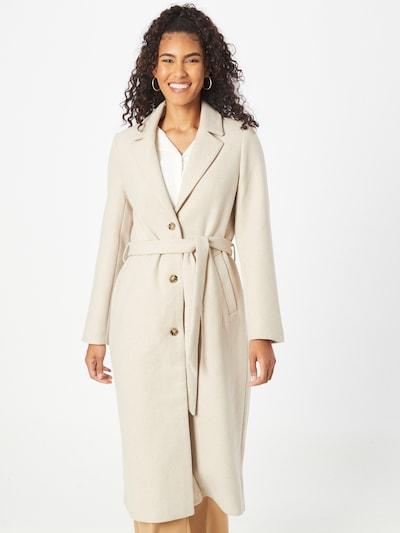 Demisezoninis paltas iš MINE TO FIVE, spalva – glaisto spalva, Modelio vaizdas