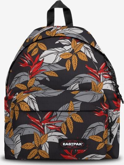 EASTPAK Rucksack in grau / orange / rot / schwarz / weiß, Produktansicht