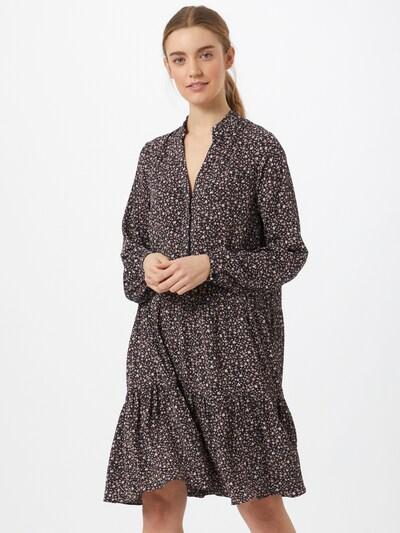 Neo Noir Kleid 'Federica' in lila / rosa / schwarz / weiß, Modelansicht