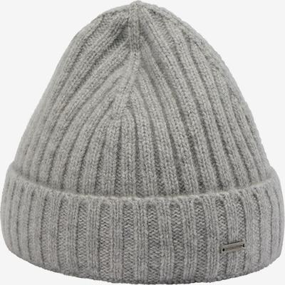DreiMaster PREMIUM Bonnet en gris, Vue avec produit