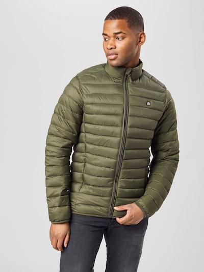 BLEND Prijelazna jakna u tamno zelena: Prednji pogled