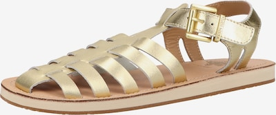 SCOTCH & SODA Sandale in gold, Produktansicht