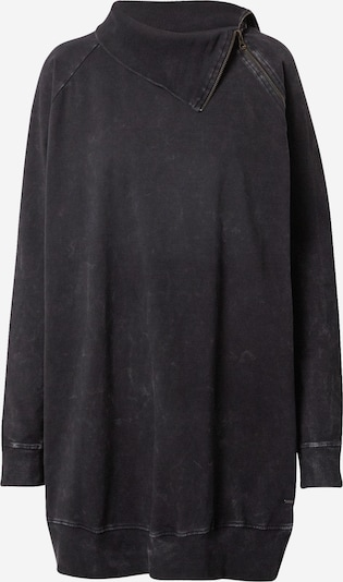 Funky Buddha Robe 'FBL002-110-13' en noir, Vue avec produit
