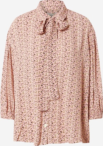 NUÉ NOTES Bluse 'THEO' in Lila