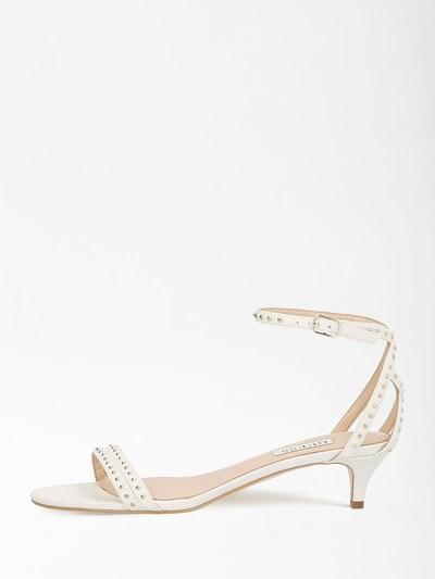 Sandale cu baretă 'DAVA2' GUESS pe alb, Vizualizare produs