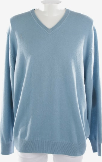 Allude Kaschmirpullover  in XXXL in hellblau, Produktansicht