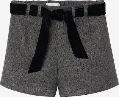 MANGO KIDS Shorts in grau / schwarz, Produktansicht