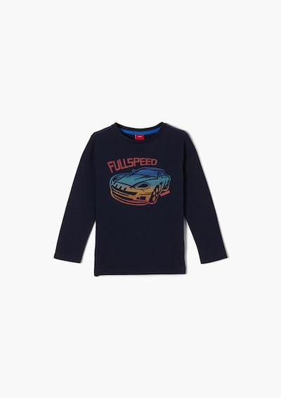 s.Oliver Shirt in dunkelblau / mischfarben, Produktansicht