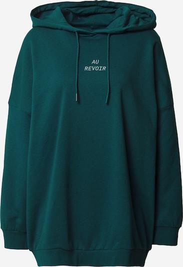 Megztinis be užsegimo 'BELIEVE' iš Noisy may , spalva - tamsiai žalia, Prekių apžvalga