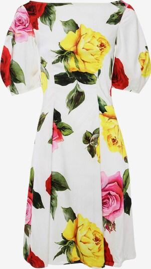 Madam-T Sommerkleid 'ROBERTA' in gelb / rosa, Produktansicht