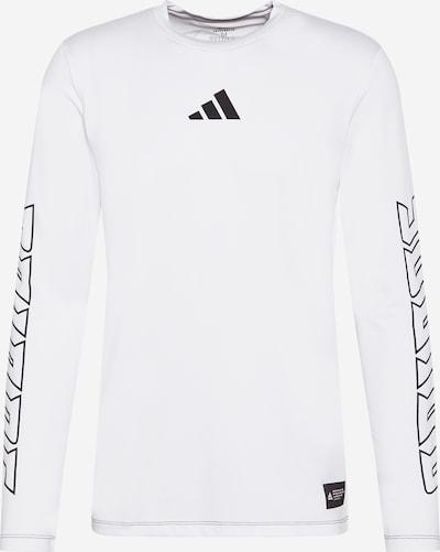 ADIDAS PERFORMANCE Функционална тениска 'Hype Aeroready' в бяло, Преглед на продукта