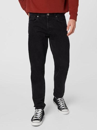 SELECTED HOMME Jeans 'Toby' in black denim, Modelansicht