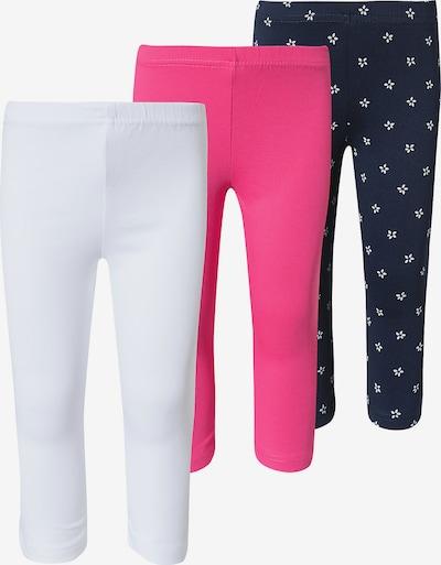 BLUE SEVEN Hose in nachtblau / pink / weiß, Produktansicht