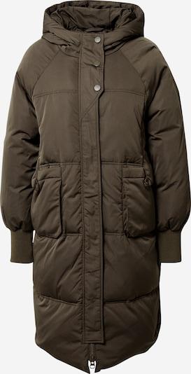 Y.A.S Manteau d'hiver 'Solea' en olive, Vue avec produit