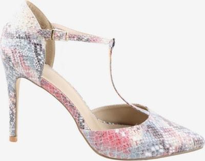 Only Pink T-Steg-Sandaletten in 41 in blau / pink / wollweiß, Produktansicht