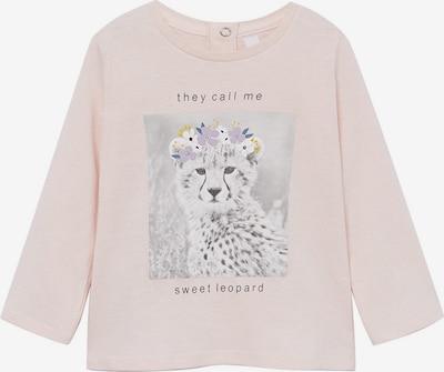 MANGO KIDS Shirt 'SAFARI' in senf / basaltgrau / hellgrau / orchidee / pink, Produktansicht