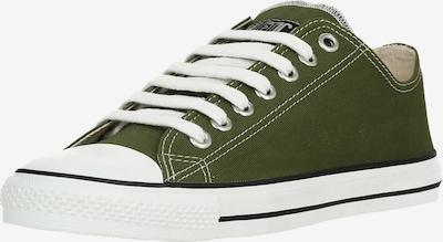Ethletic Sneakers laag in de kleur Olijfgroen, Productweergave