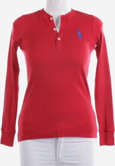 POLO RALPH LAUREN Shirt langarm in M in rot, Produktansicht