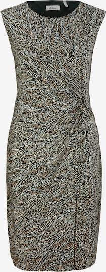 s.Oliver BLACK LABEL Kleid in chamois / brokat / hellbraun / schwarz, Produktansicht
