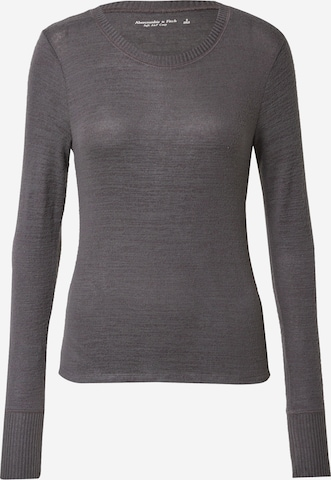 Abercrombie & Fitch Pullover in Schwarz