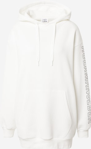 Hoermanseder x About You Sweatshirt 'Maxi' in White
