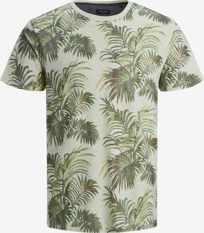 Jack & Jones Junior T-Shirt in braun / schilf / grasgrün / hellgrün / dunkelgrün, Produktansicht