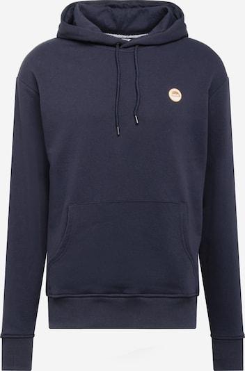 !Solid Sweat-shirt 'Pietro' en bleu marine / rouge / blanc, Vue avec produit
