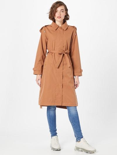 MAKIA Mantel 'Kaisla' in camel, Modelansicht
