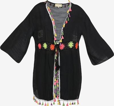 MYMO Kimono in limone / neongelb / hellgrün / neonpink / schwarz, Produktansicht