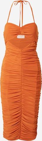 CLUB L LONDON Kleid in Orange