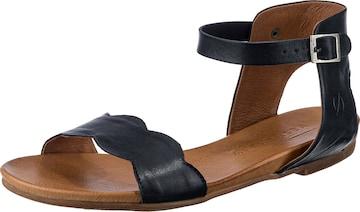 Paul Vesterbro Leder Klassische Sandalen in Blau