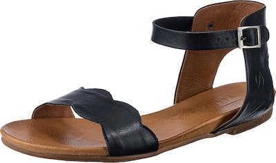 Paul Vesterbro Leder Klassische Sandalen in dunkelblau, Produktansicht
