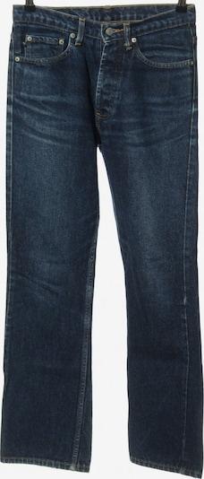 Ralph Lauren High-Waist Hose in S in blau: Frontalansicht