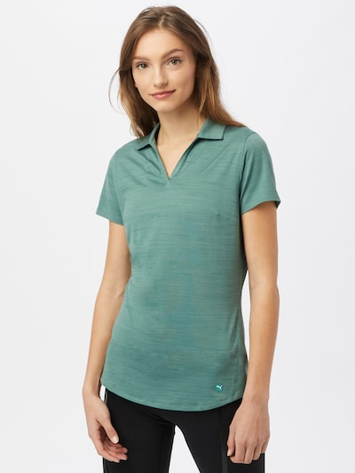 PUMA Функционална тениска в пастелно синьо: Изглед отпред