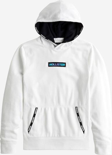 HOLLISTER Sweatshirt in schwarz / weiß, Produktansicht