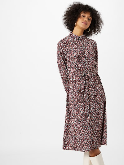 Palaidinės tipo suknelė 'PIPER' iš JACQUELINE de YONG , spalva - tamsiai mėlyna / raudona / balta, Modelio vaizdas