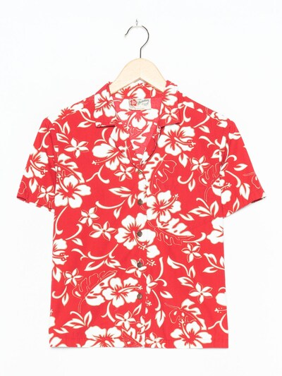 The Hawaiian Original Hawaiihemd in L in feuerrot, Produktansicht