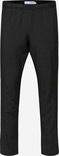 SELECTED HOMME Broek in de kleur Rookgrijs / Zwart: Vooraanzicht