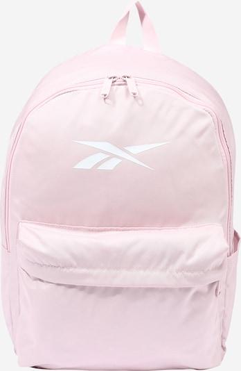 Reebok Sport Sac à dos de sport en rose / blanc, Vue avec produit