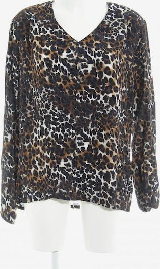 Tramontana Langarm-Bluse in XL in braun / schwarz / wollweiß, Produktansicht