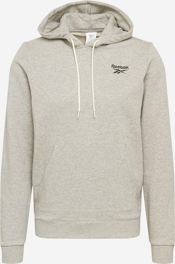 REEBOK Sportsweatshirt in hellgrau, Produktansicht