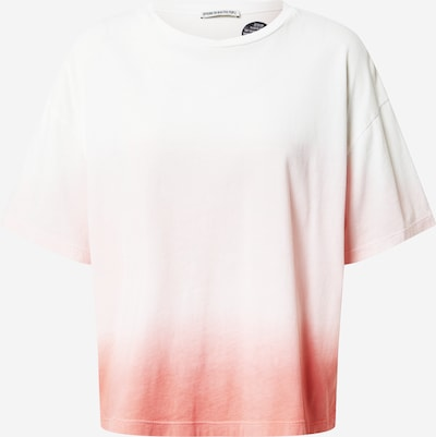 DRYKORN T-shirt 'LUNIE' i melon / vit, Produktvy