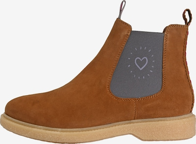 Crickit Chelsea Boot 'ELISA Heartbeat' in braun, Produktansicht