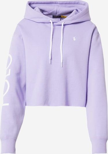 POLO RALPH LAUREN Bluzka sportowa w kolorze fioletowy / białym, Podgląd produktu